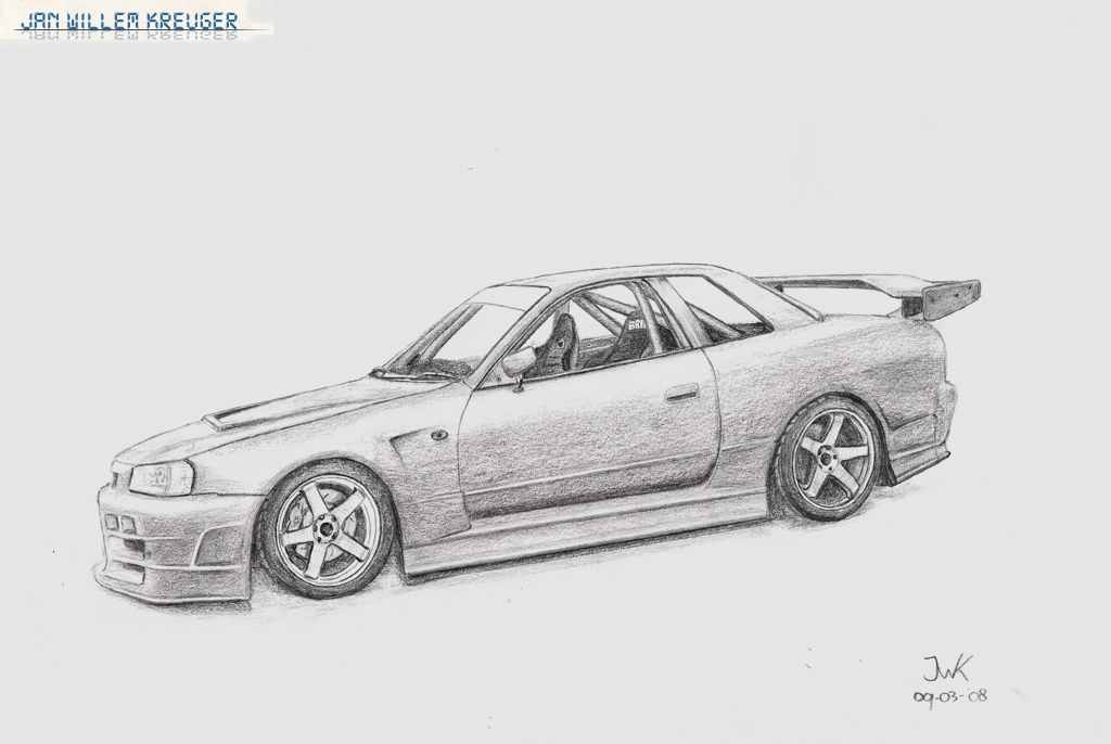 nissan r33 gtr coloring pages - photo#14